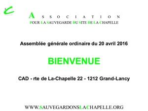 AGO 2016 présentation